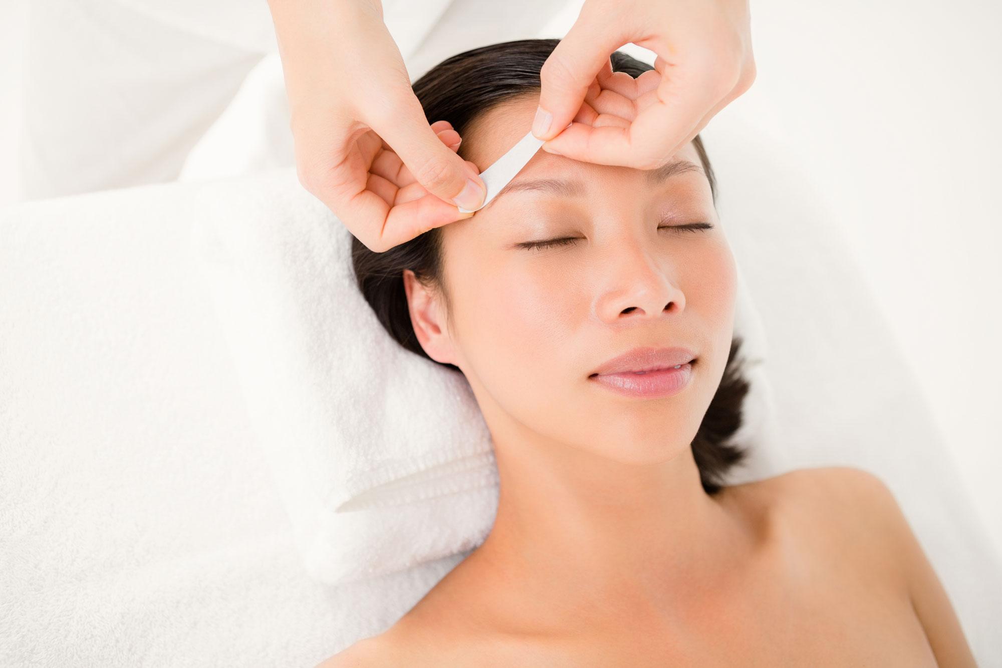 Beauty time waxing eyebrow waxing