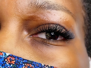 Beauty Time Client lashes