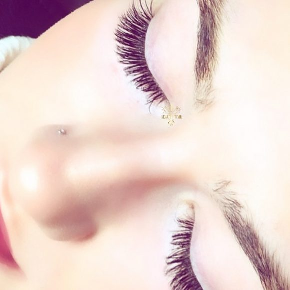 Beauty Time eyelash extesnion examples
