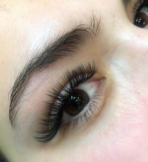 close up lashes