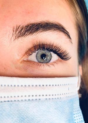 open eye lash extensions
