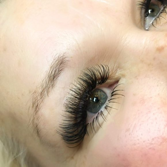 Beauty Time Eyelash extension portfolio examples