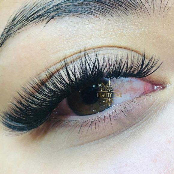 Cateye lash extensions Beauty Time