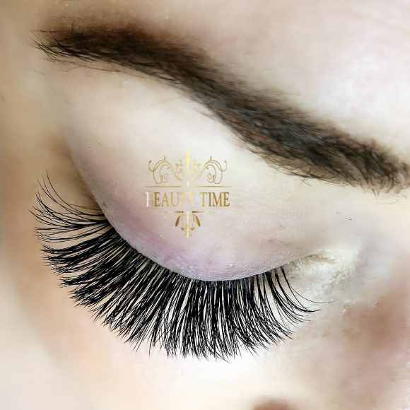 Volume Lash Extensions Beauty Time.