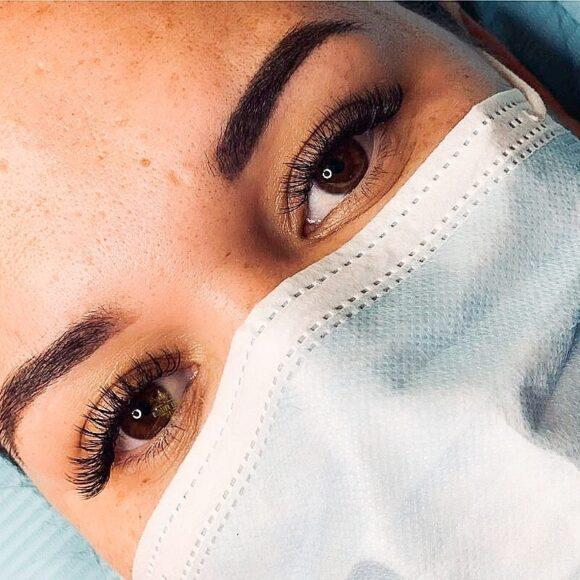 Eyelash Extension Examples
