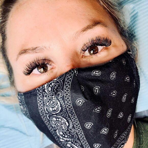 Eyelash Extensions Portfolio Pictures