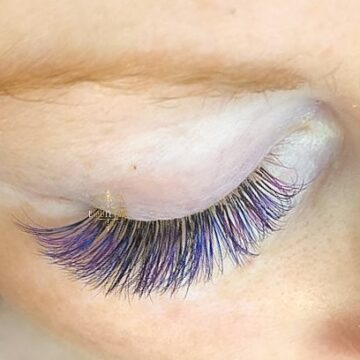 Beauty time color lashes