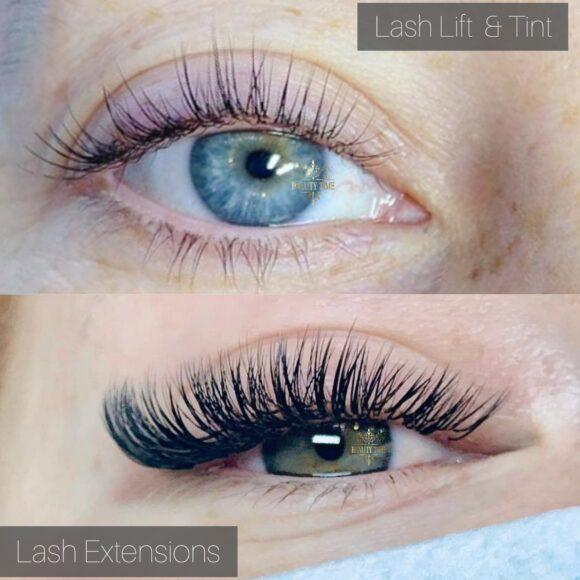 Lash Lift and Tint Lash Extensions