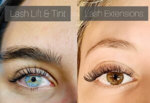 Lash Lift and Lash Extensions